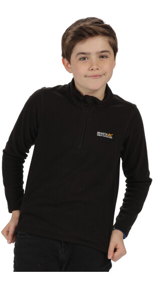 Regatta Hot Shot II Fleece Kids Black/Black